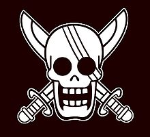 【2500+ views】ONE PIECE: Jolly Roger of Shanks by Ruo7in