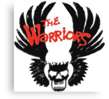 THE WARRIORS symbol Canvas Print