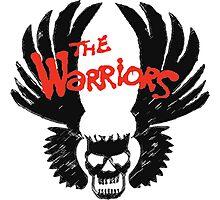 THE WARRIORS symbol Photographic Print