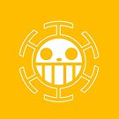 【4500+ views】ONE PIECE: Jolly Roger of Trafalgar Law by Ruo7in