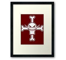 【3300+ views】ONE PIECE: Jolly Roger of Whitebeard Framed Print