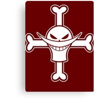 【3300+ views】ONE PIECE: Jolly Roger of Whitebeard Canvas Print
