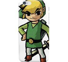 Link, zelda, cartoon version iPhone Case/Skin
