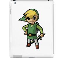 Link, zelda, cartoon version iPad Case/Skin