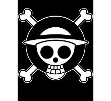 【3600+ views】ONE PIECE: Jolly Roger of Straw Hat II Photographic Print