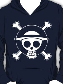 【3600+ views】ONE PIECE: Jolly Roger of Straw Hat II T-Shirt