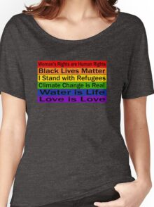 Political Protest – United we can make a change Women's Relaxed Fit T-Shirt
