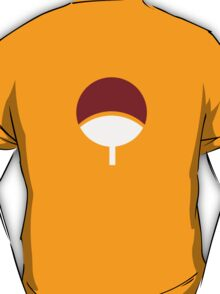 【24200+ views】NARUTO: Clan Symbol of Uchiha T-Shirt