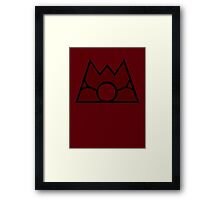 【10600+ views】Pokemon Team Magma Framed Print