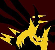【7000+ views】Pokemon Giratina by Ruo7in