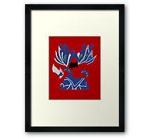Guldan Hearthstone Pop style Framed Print
