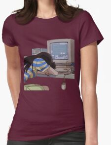 Waiting Womens Fitted T-Shirt