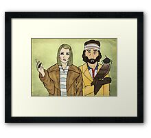 Margot & Richie Framed Print