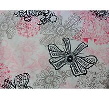 Pretty Bow Style Photographic Print
