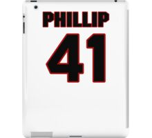 NFL Player Phillip Thomas fortyone 41 iPad Case/Skin