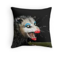 the most beautiful girl Throw Pillow