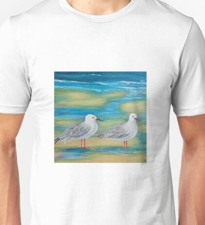 Waiting for the tide - Hervey Bay Unisex T-Shirt