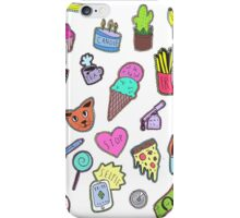 Anything and everything in COLOR iPhone Case/Skin