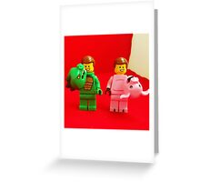 Emmets Get Ready Greeting Card