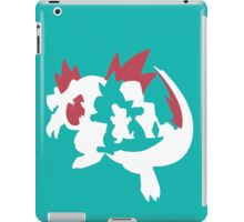 【13800+ views】Pokemon Totodile>Croconaw>Feraligatr iPad Case/Skin