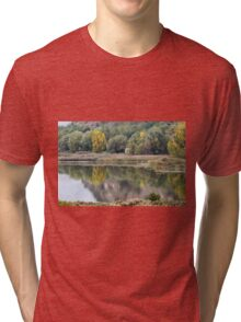 landscape lake Tri-blend T-Shirt