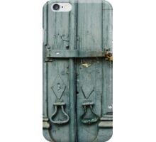 Locked Door iPhone Case/Skin