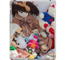 old doll iPad Case/Skin