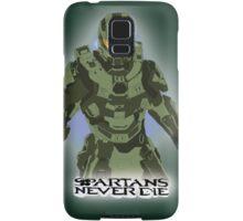 Spartans Never Die Samsung Galaxy Case/Skin