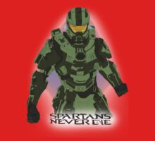 Spartans Never Die Kids Clothes