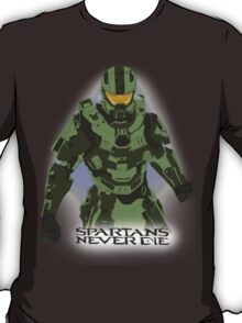 Spartans Never Die T-Shirt