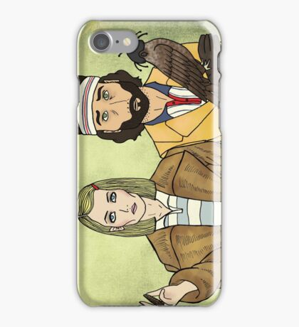 Margot & Richie iPhone Case/Skin