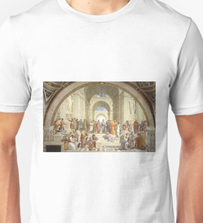 The School of Athens - Raphael Unisex T-Shirt