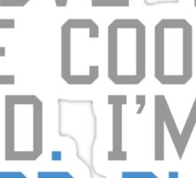 I love you like cooked food Sticker