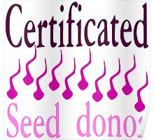 Seed Donor Poster