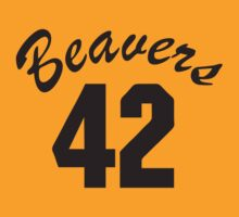 Teen wolf – Beavers number 42 by movieshirt4you