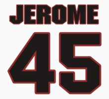 NFL Player Jerome Murphy fortyfive 45 by imsport