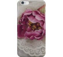 """""""sonia"""" silk flower wedding headpiece!  beautiful with a veil or by itself.  candace bridal collectables iPhone Case/Skin"""