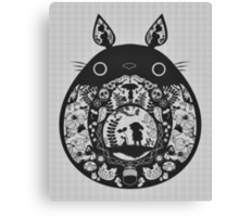 【24800+ views】Totoro Canvas Print
