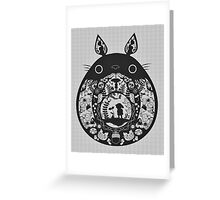 【24800+ views】Totoro Greeting Card