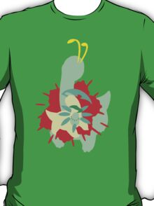【11800+ views】Pokemon  Chicorita>Bayleef>Meganium T-Shirt