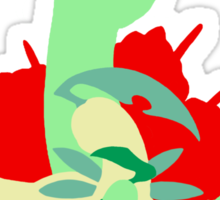 【11800+ views】Pokemon  Chicorita>Bayleef>Meganium Sticker