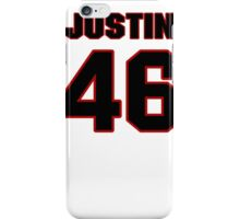NFL Player Justin Cole fortysix 46 iPhone Case/Skin