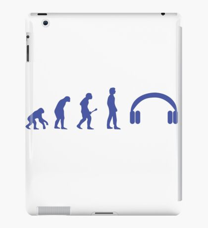 Evolution headphones iPad Case/Skin