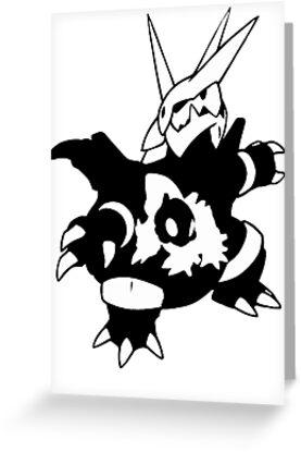 【17800+ views】Pokemon  Aron>Lairon>Aggron by Ruo7in