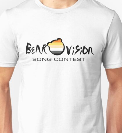 Bearovision Song Contest (black text) Unisex T-Shirt