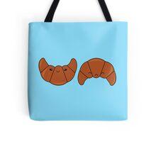 Croissant happy or sad Tote Bag