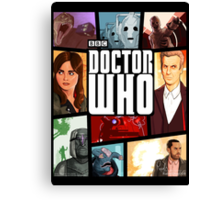 Doctor Who - Series VIII Canvas Print