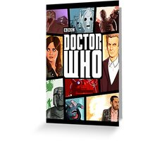 Doctor Who - Series VIII Greeting Card