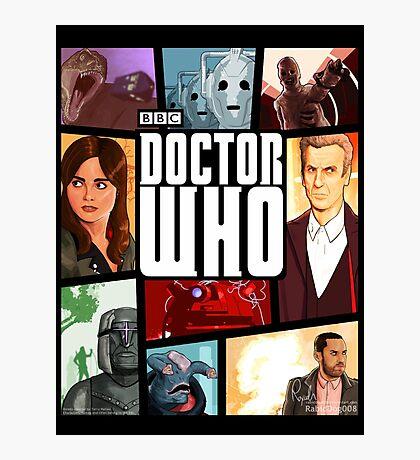 Doctor Who - Series VIII Photographic Print