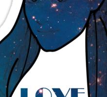 Ariana Grande - Space - Love Me Harder Sticker